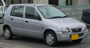 1997 facelift model Suzuki Alto (HA11) 4th gen 1997-1998