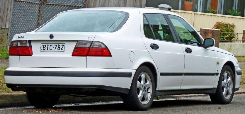 1997–2001 Saab 9-5 SE sedan a