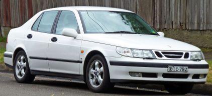 1997–2001 Saab 9-5 SE sedan