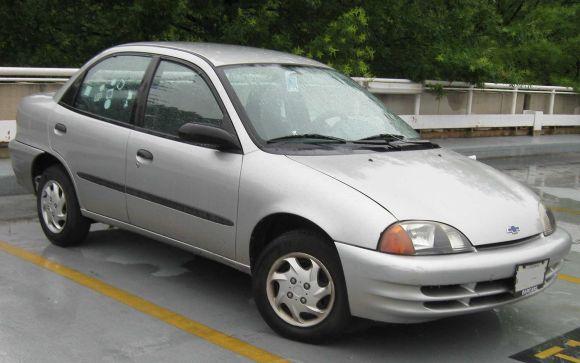 1998-2001 Chevrolet Metro