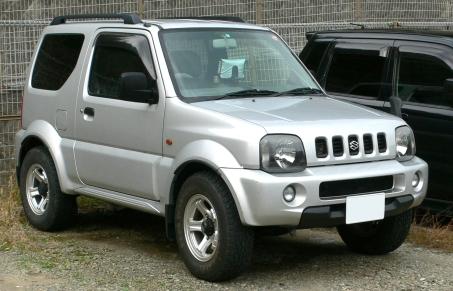 1998 3rd generation Suzuki Jimny (1998 - 2002)