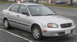 1999-2000 Suzuki Esteem Sedan