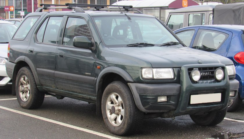 1999 Vauxhall Frontera Limited DTi Automatic 2.2 Front