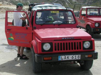 2001 Maruti Gypsy vehicles in Gozo, Malta