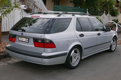 2001 Saab 9-5 Aero station wagon