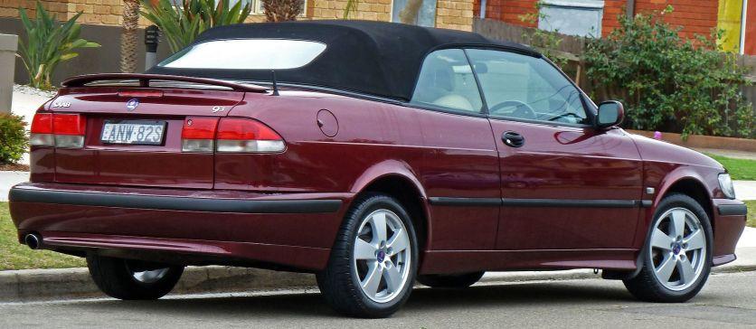 2001–2002 Saab 9-3 (MY02) Anniversary convertible