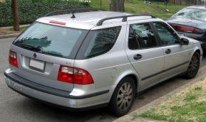 2002-2005 Saab 9-5 rear