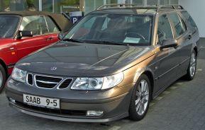 2002-2005 Saab 9-5 Sport Combi front