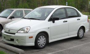 2002–2004 Suzuki Aerio Sedan