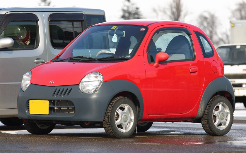2003-2005 Suzuki Twin EV Electrc Vehicle 001