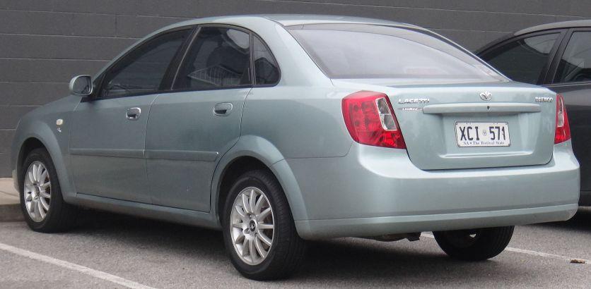 2003 Daewoo Lacetti (J200) SX Limited sedan
