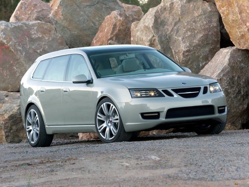 2003 Saab 9-3 Sport Hatch Concept