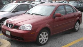 2004-2005 Suzuki Forenza Sedan
