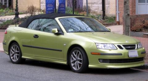 2004-2007 Saab 9-3 convertible