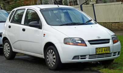 2004 Daewoo Kalos five-door (T200) (2003-2004)