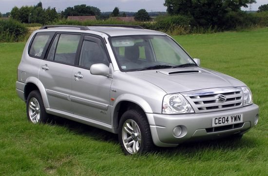 2004 Suzuki Grand Vitara XL-7 (UK)