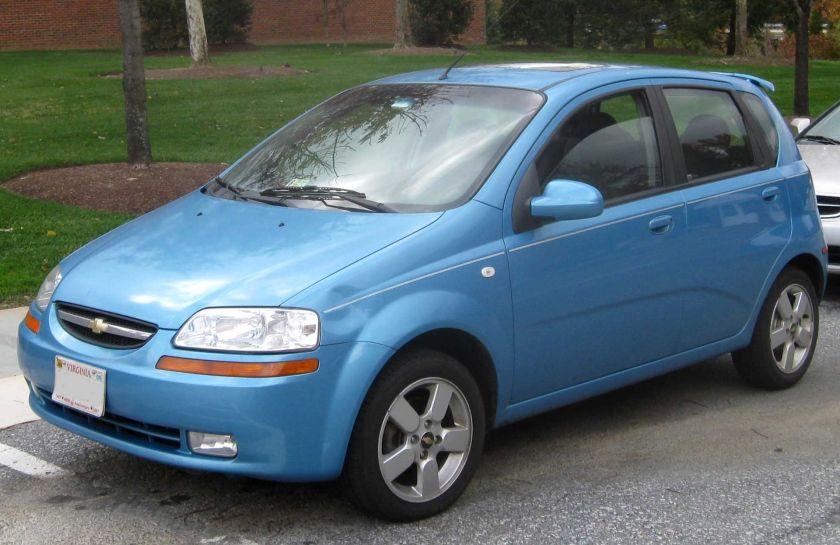 2004–2006 Chevrolet Aveo LT front
