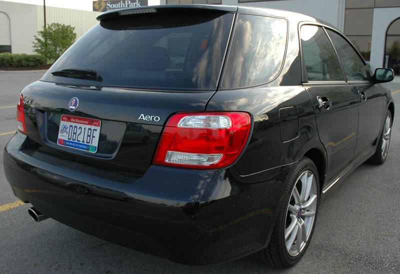 2005 Saab 9-2x Aero rear