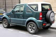 2006-2009 Suzuki Jimny JB53 DDiS Canvas Top, a diesel version mainly for European markets. Built by Spanish Santana Motors
