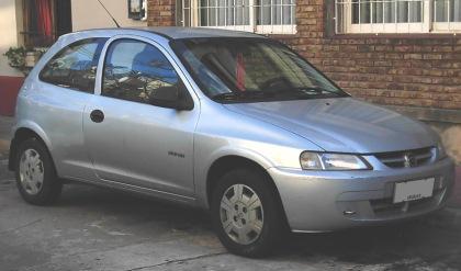 2006 - Chevrolet Celta 3dr Super pre-2006 - Front