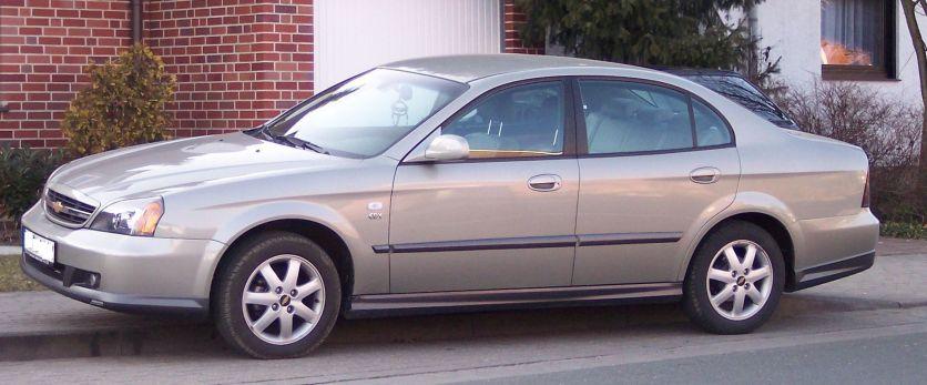 2006 Chevrolet Evanda l champagne