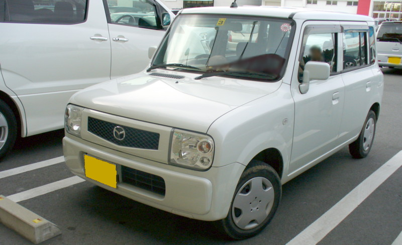 2007 Mazda Spiano (rebadged Suzuki Alto Lapin)