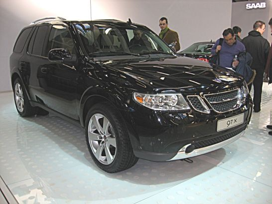 2007 Saab 9-7X Front-view