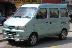 2007 Suzuki E-RV (front), Kajang