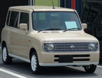 2007 Suzuki Lapin facelift