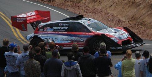 2007 Suzuki XL7 Hill Climb Special race