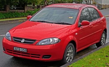 2007–2008 Holden Viva (JF MY08) hatchback