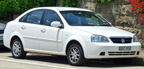 2007–2008 Holden Viva (JF MY08) sedan