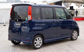 2008-2013 Suzuki Palette rear