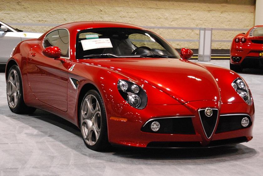 2008 Alfa Romeo 8C-Competizione