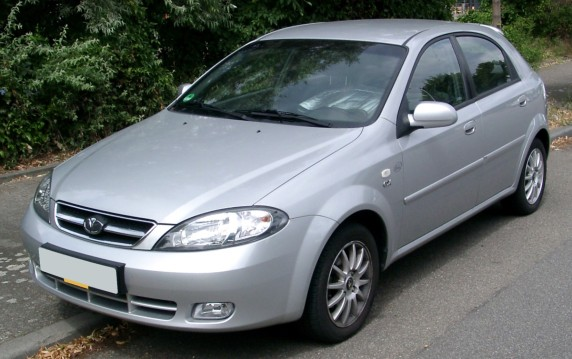 2008 Daewoo Lacetti front