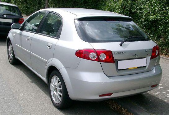 2008 Daewoo Lacetti rear