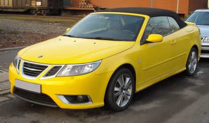 2008 Facelifted Saab 9-3 Aero convertible