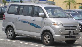 2008 first generation Suzuki APV, in Serdang, Selangor, Malaysia