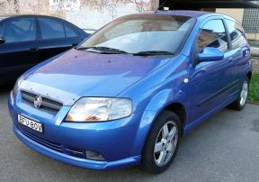 2008 Holden Barina (TK MY08) 3-door hatchback