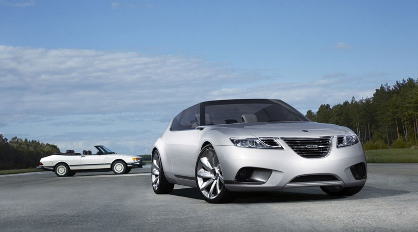 2008 Saab 9-X Air concept car