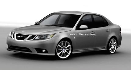 2008 Saab 93 front