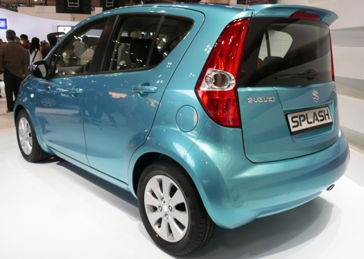 2008 Suzuki Splash rear