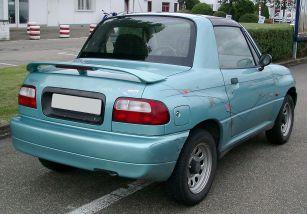 2008 Suzuki Vitara X-90 rear
