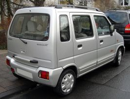 2008 Suzuki Wagon R+ rear 2008