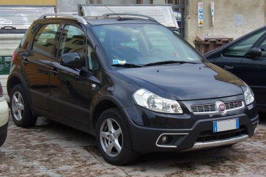 2009 Fiat Sedici facelift
