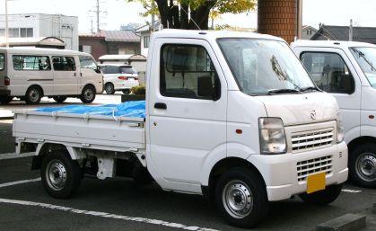 2009 Mazda Scrum Truck