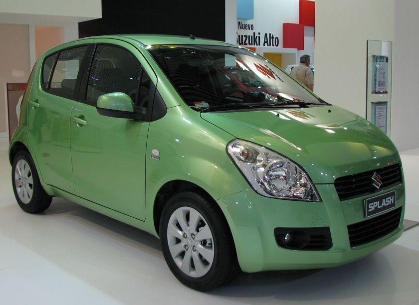 2009 Suzuki Splash 2008-2015