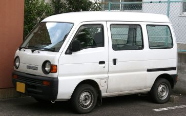 2010 10th generation Suzuki Carry Van