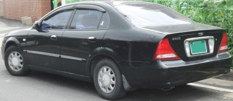 2010 Daewoo Magnus prefacelift rear