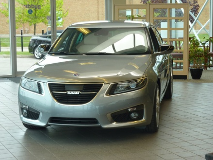 2010 Saab 9-5 - Front end 2010-2011